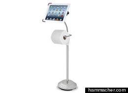 El accesorio ideal para quienes se llevan el iPad al baño