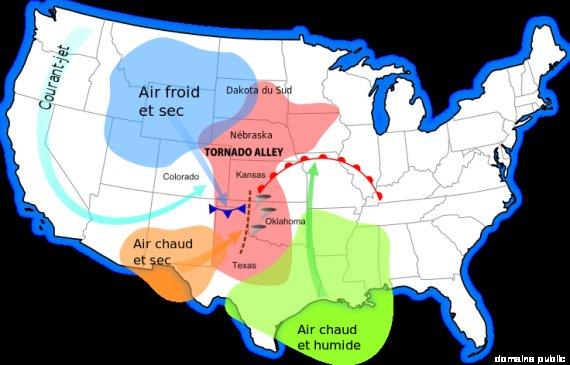 comment prévoir les tornades