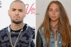 Awkward! Chris Brown Makes Friends...