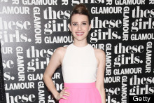 Sophisticated Style: Emma Roberts Looks Elegant In Blush Skirt And Stilettos