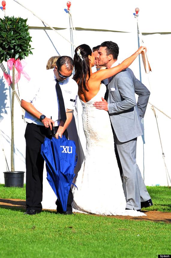 melanie sykes wedding pictures
