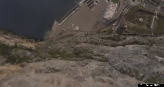 matthew gough base jump