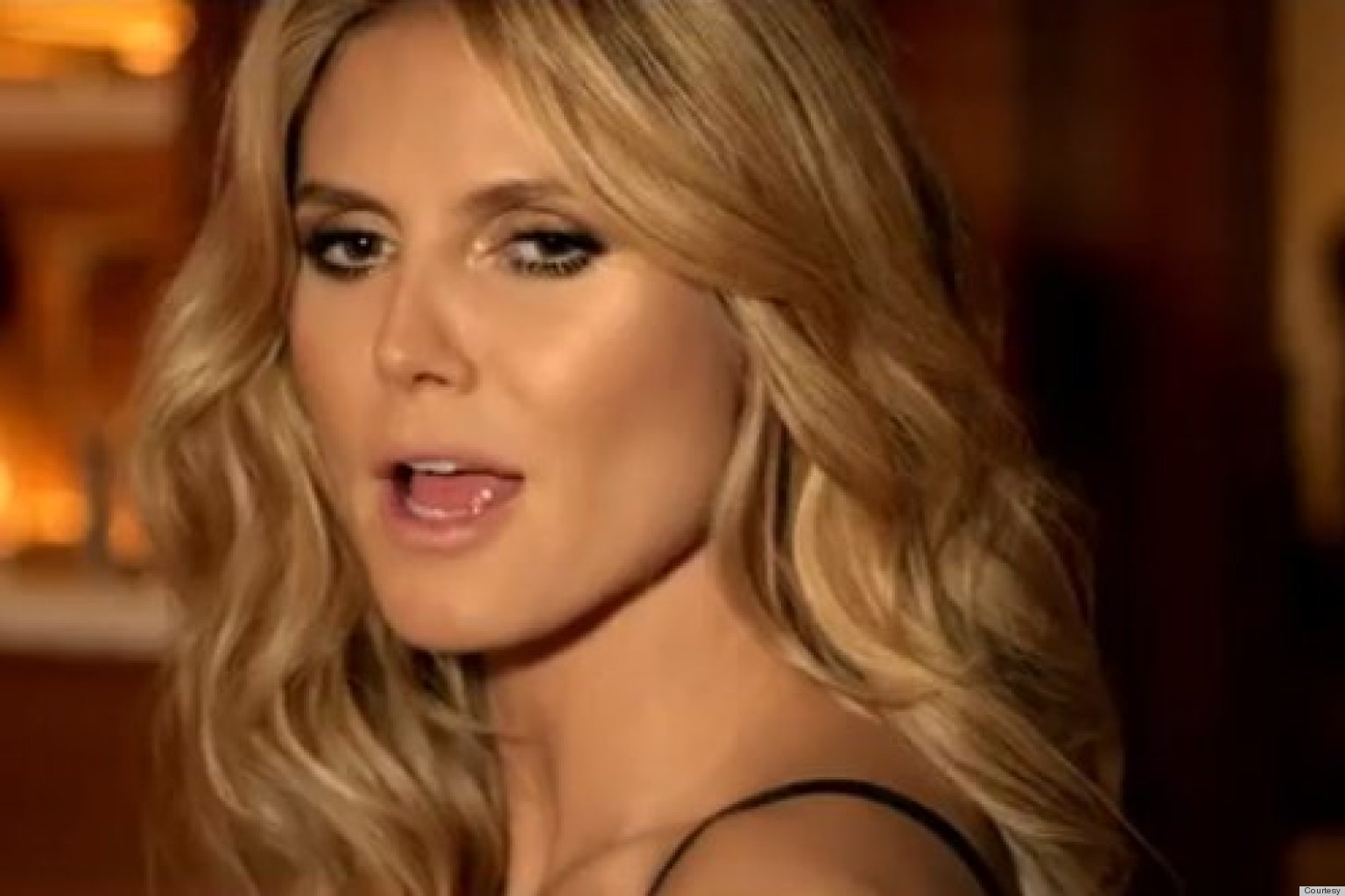 Heidi Klum: I Got Upstaged By The Hamburger In My Carl's Jr. Commercial