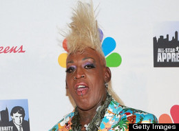 Dennis Rodman's Blond Mohawk Wows At 'Celebrity Apprentice' Finale