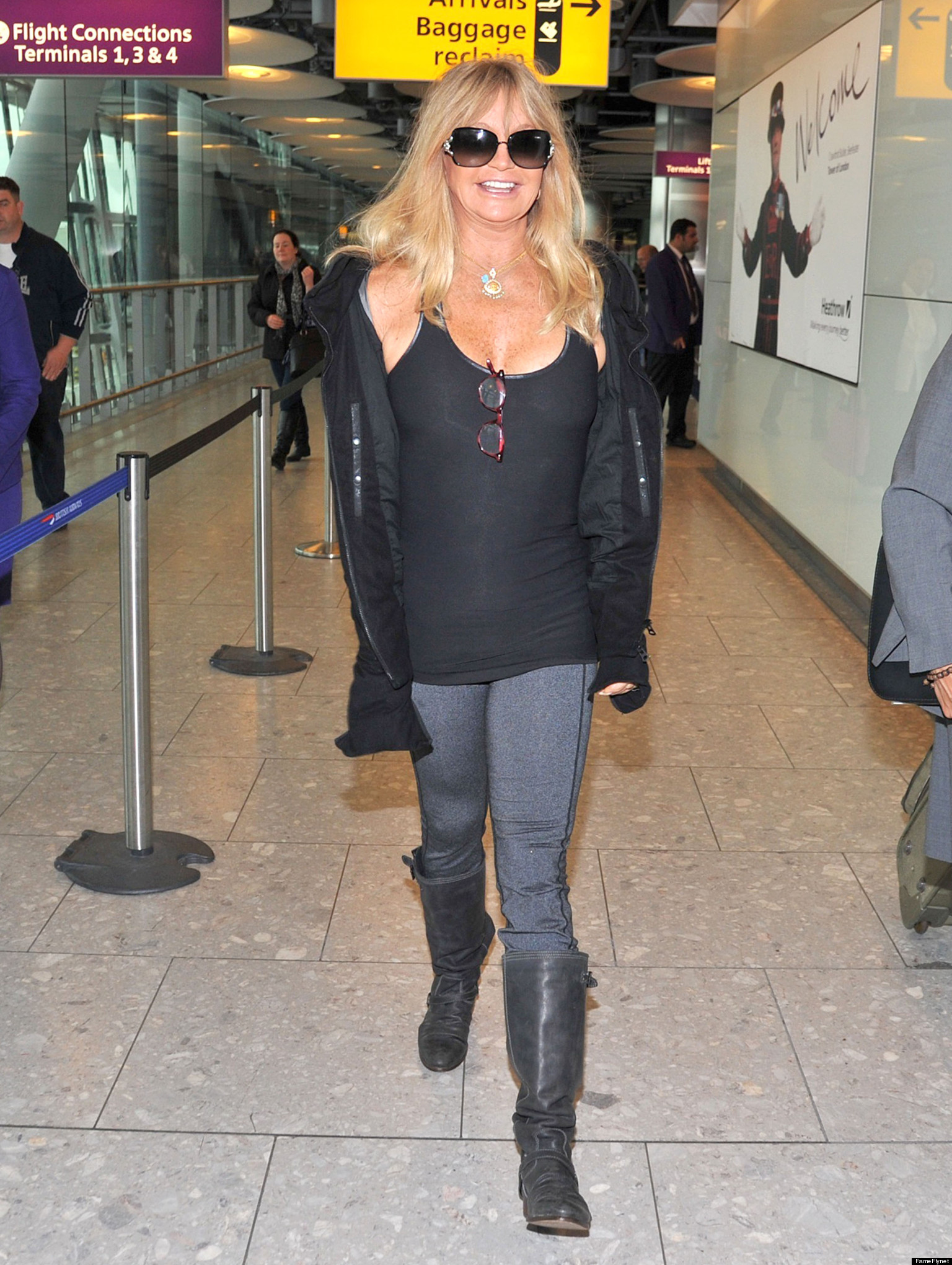 Goldie Hawn's Still Got It, Sexy As Ever At 67