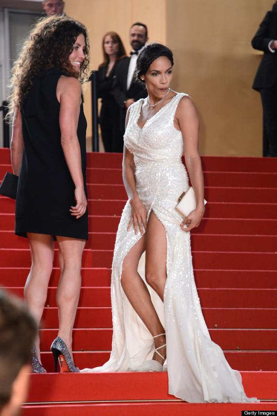 Rosario Dawson S Wardrobe Malfunction Actress