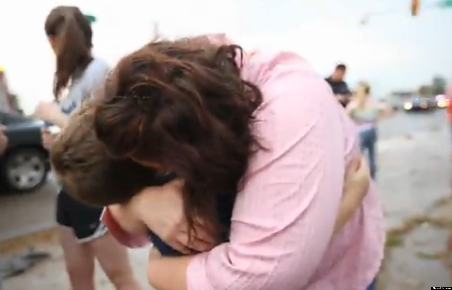 WATCH: Mom's Emotional Reunion With Son After Tornado