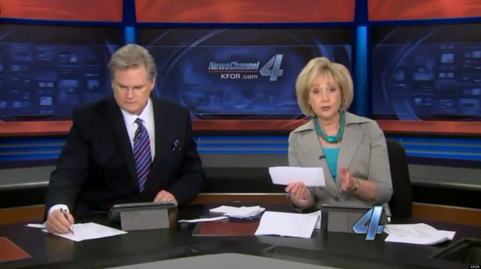 Reporter Cries Covering Moore Tornado