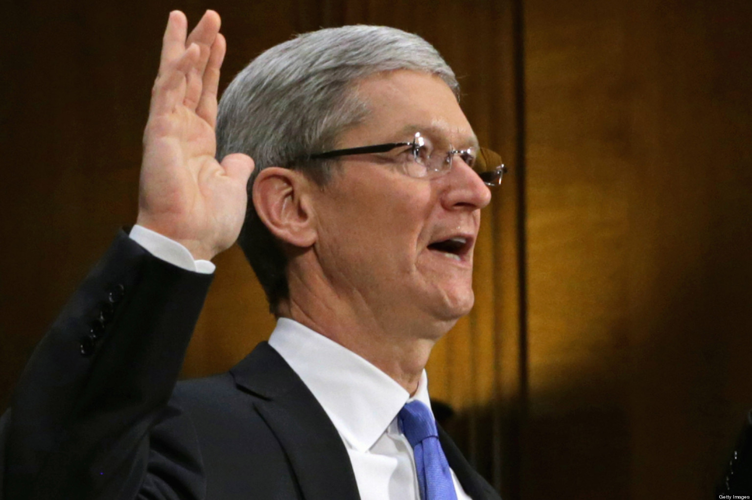 Apple CEO: 'We Pay All The Taxes We Owe'