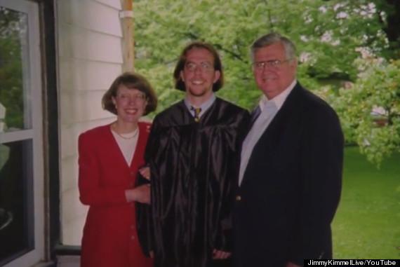 ed helms graduation photo
