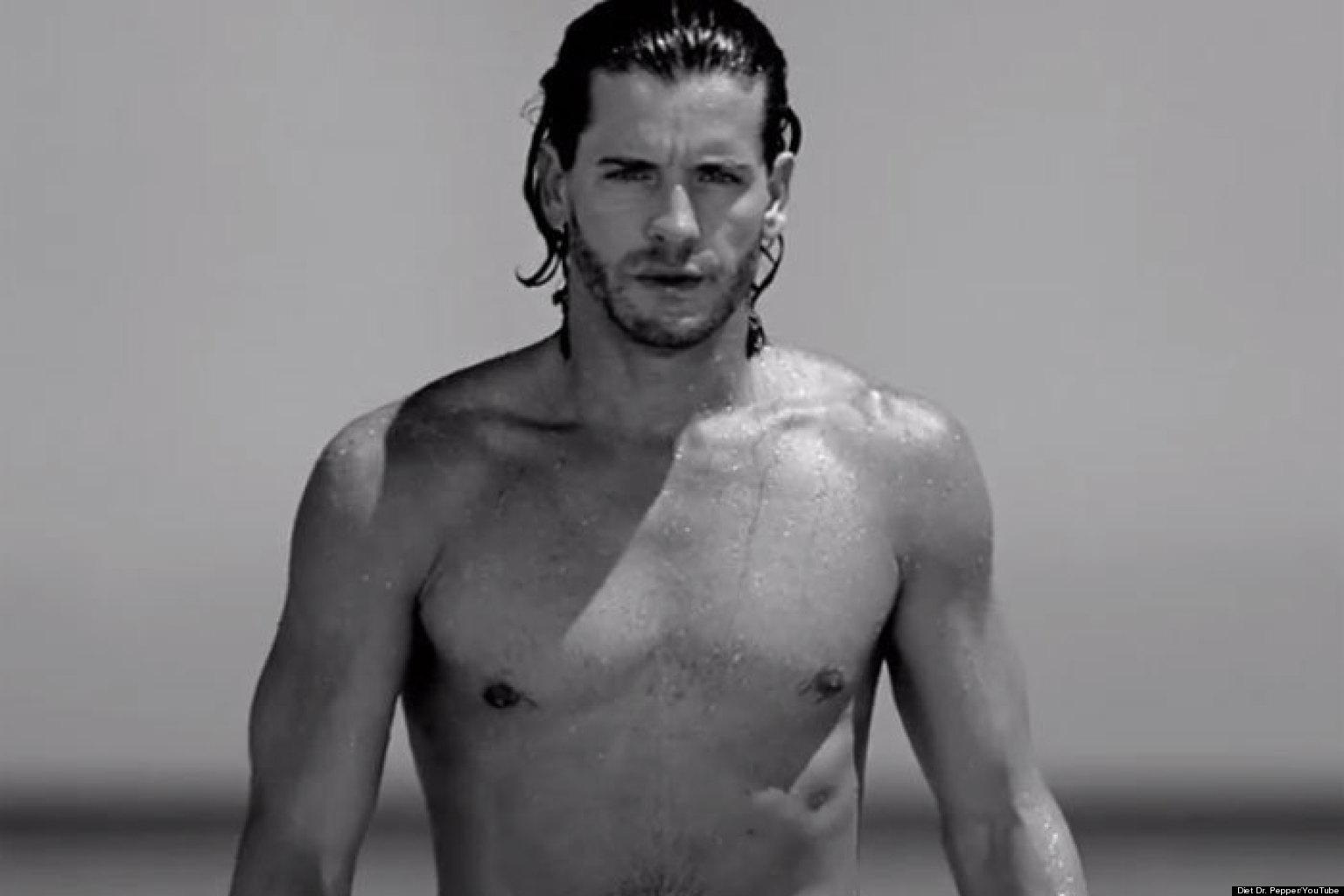 foto de Hot Men In Commercials: Dr Pepper Ad Features Model Josh