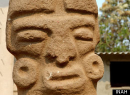 LOOK: Villagers Discover Ancient Ball Game Statue In Mexico