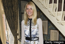 Gwyneth Paltrow Does Silk Mini And Gladiator Heels For GOOP Party (And Gasp! Chris Martin Was There!)