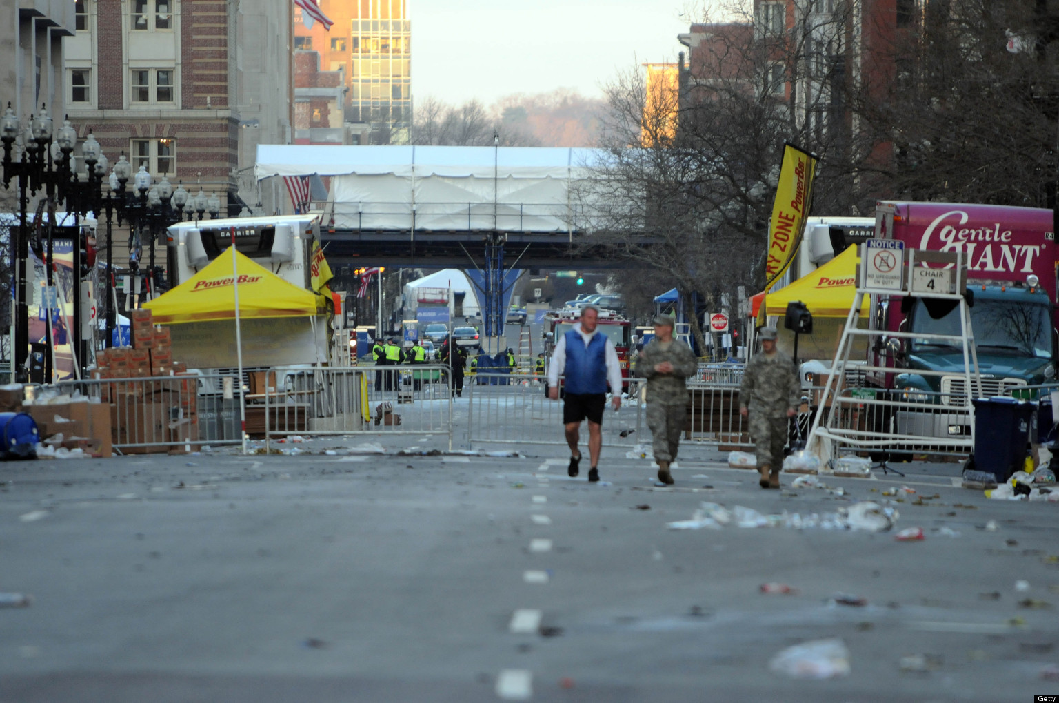 Reports: Man Questioned Over Marathon Bombings Killed By Police