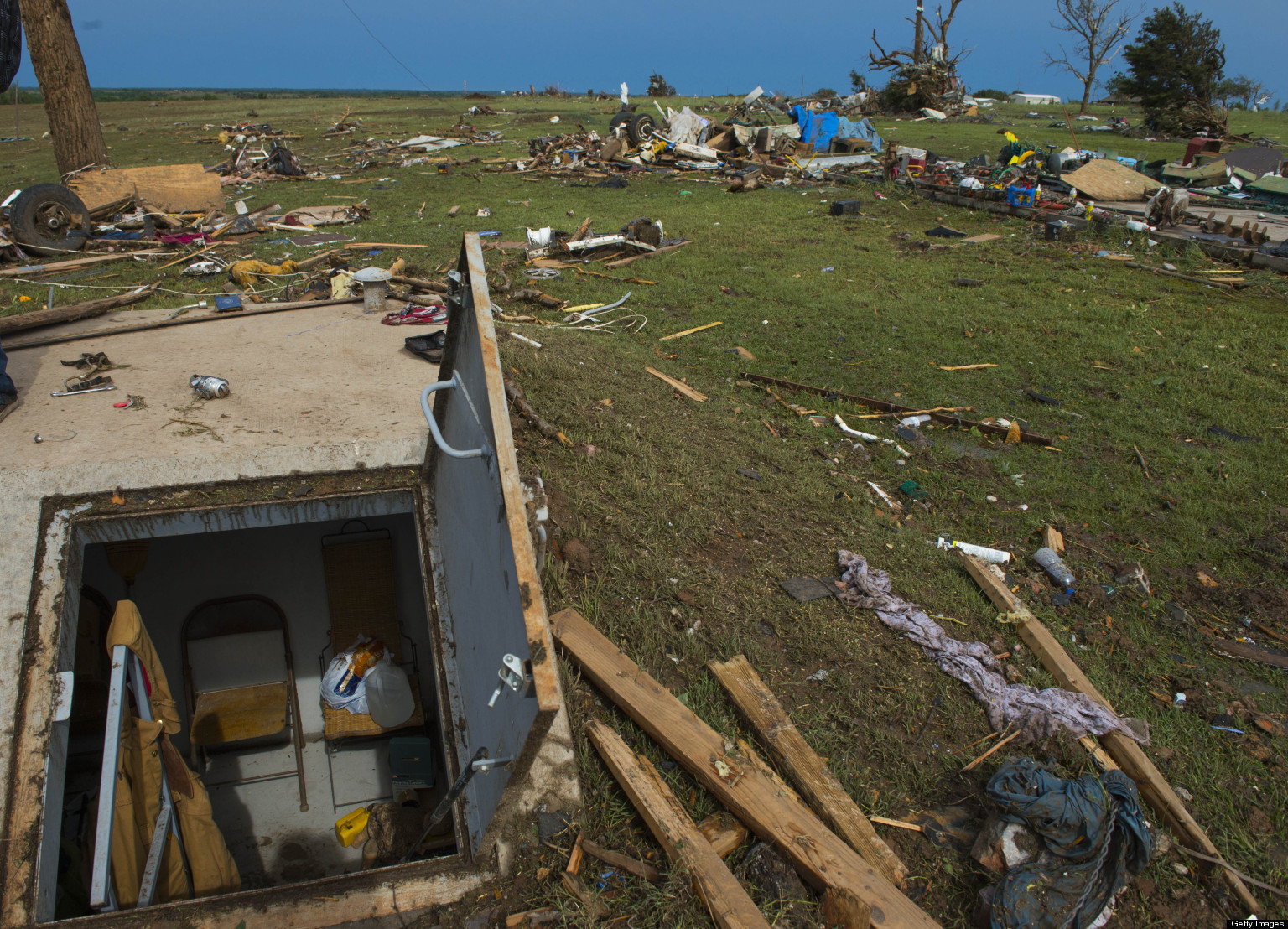 Storm Shelter Business Surges Following Oklahoma Tornado