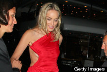 Sharon Stone Lights Up Cannes In TWO Amazing Dresses