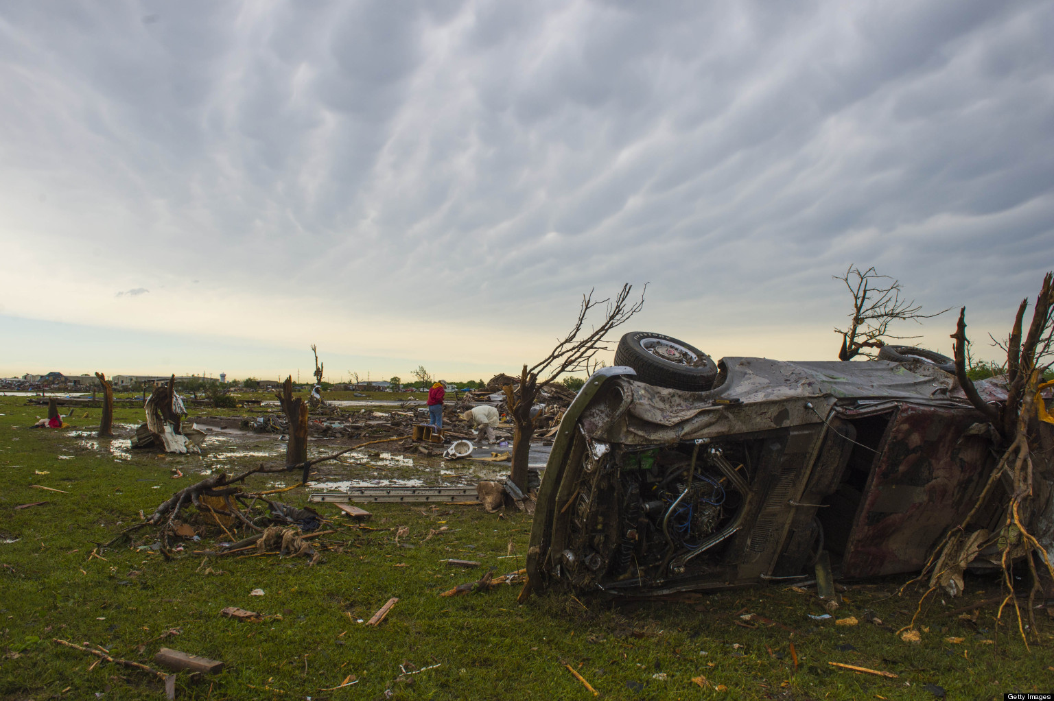 Joplin Tornado Anniversary Residents Haunted After Moore