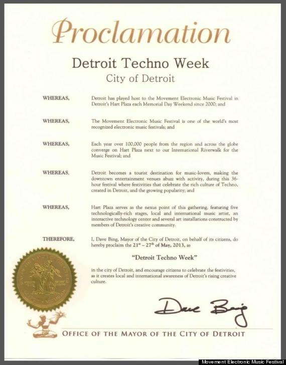 detroit techno week bing movement