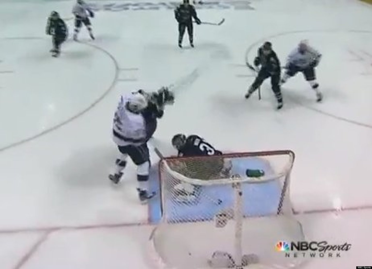 WATCH: Early Whistle Robs Kings Of Goal