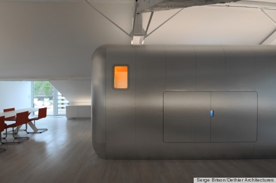 Bathroom Pods Inspired By Airstream Trailers Photos