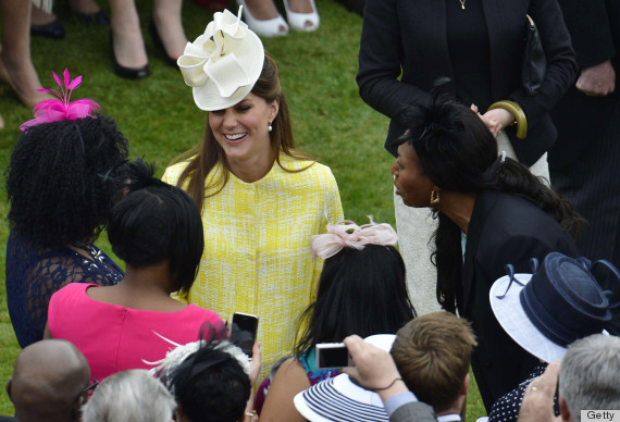 kate middleton garden party