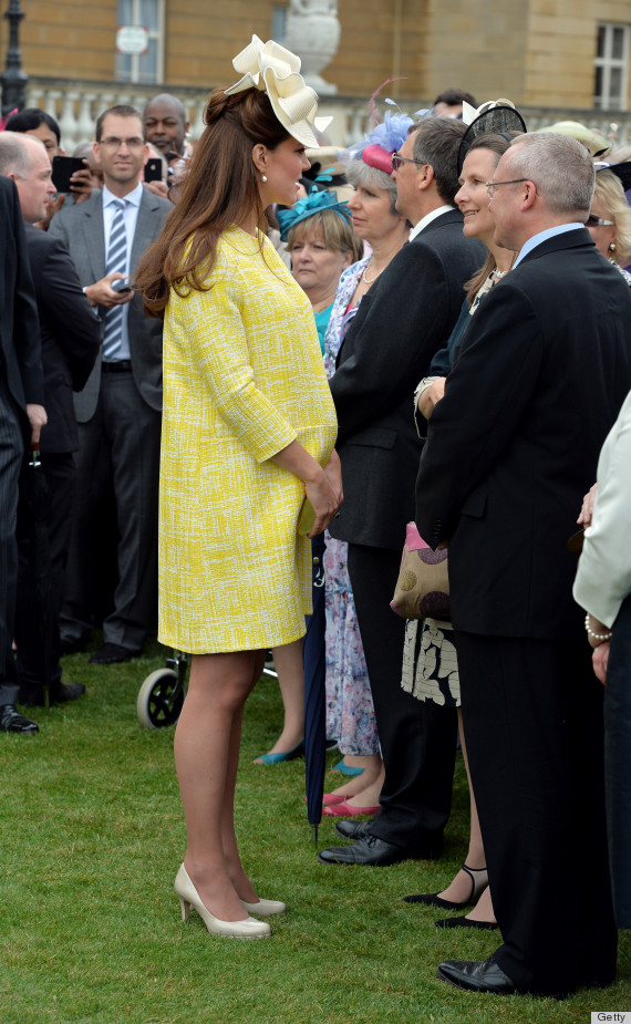 Kate Middleton 39 S Garden Party Hat Is A Bold Look Photos