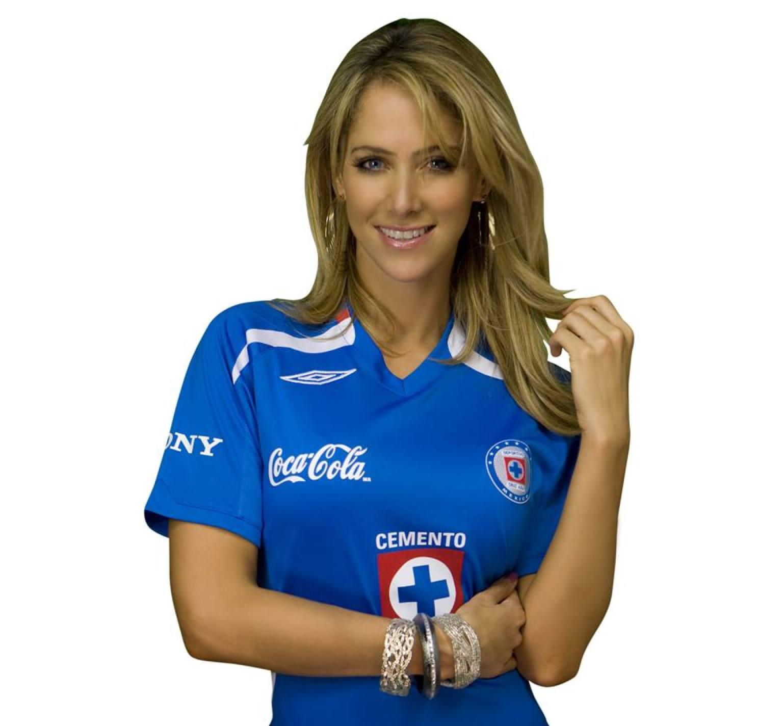 Inés Sainz la fanática más sexy y futbolera del Cruz Azul ...  Inés Sainz la ...