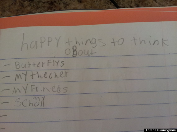 cute kid note of the day happy things