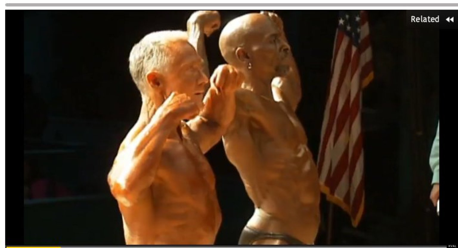 Meet Felton Campbell And Mike Huard, Bodybuilding Grandpas