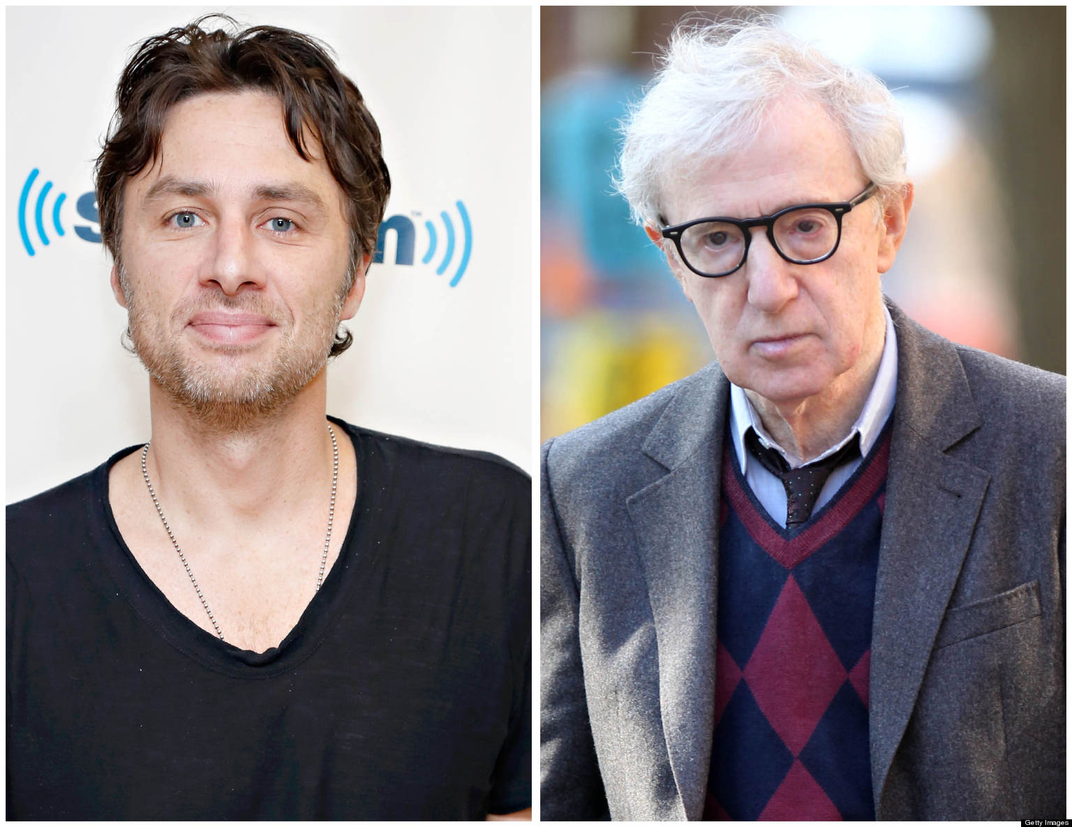 The Lesson Zach Braff Taught Woody Allen