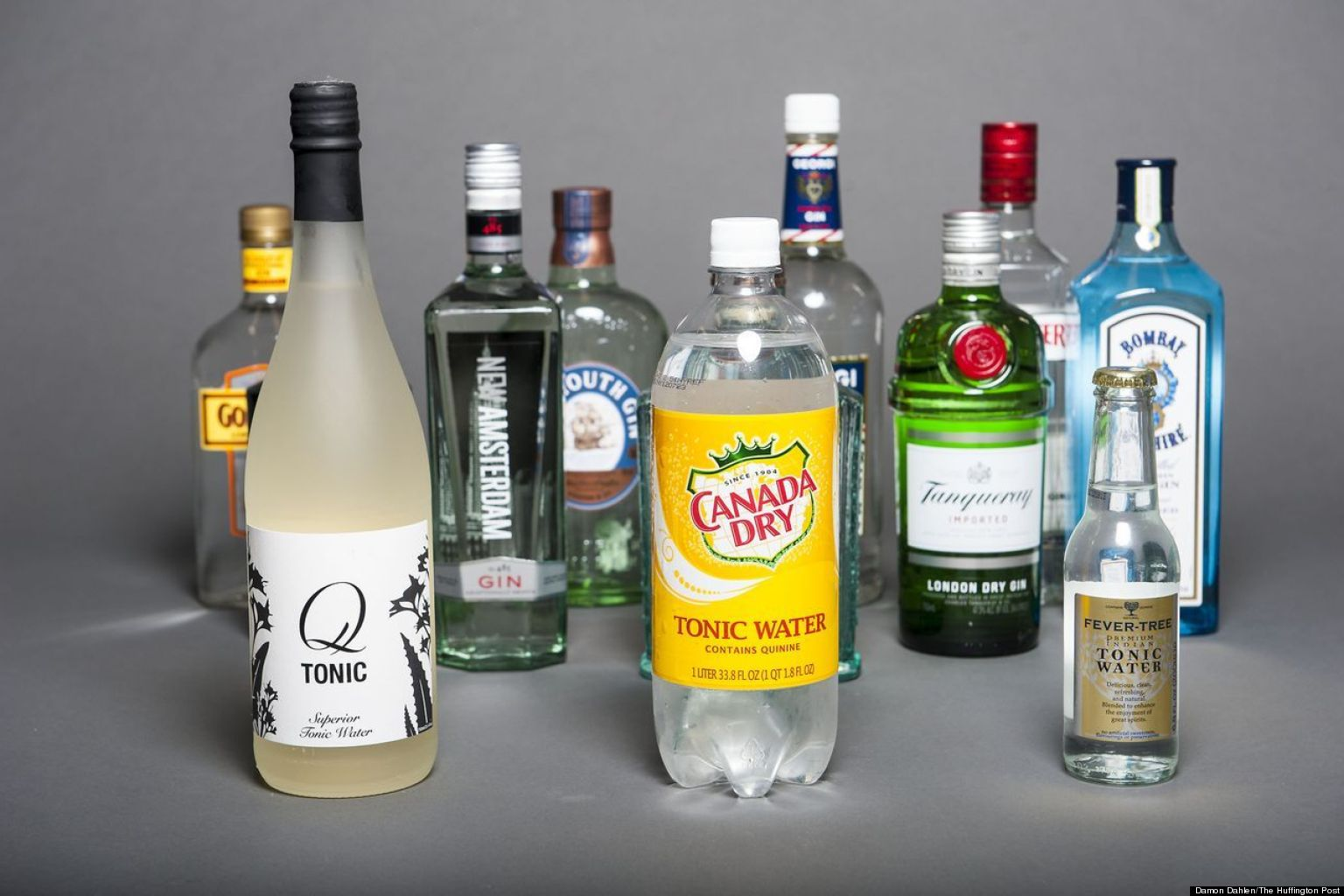 What are some top-rated brands of gin?