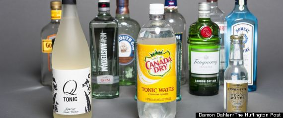 GIN AND TONIC TASTE TEST