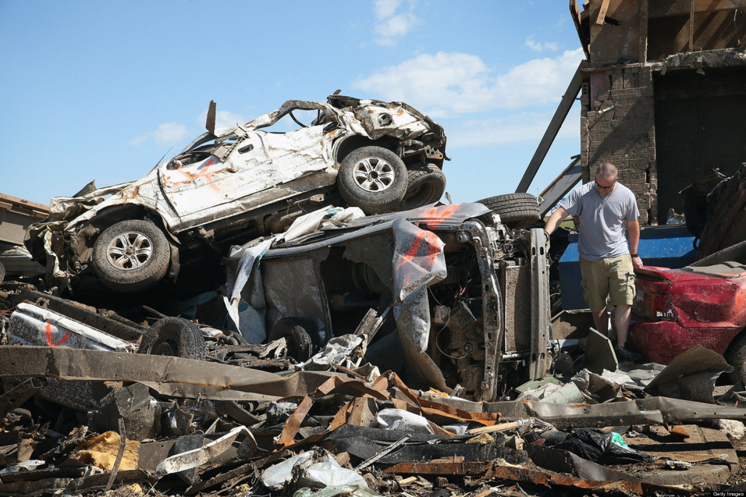 Tornado Survivors In Moore Oklahoma Astounded At How They Made It Huffpost