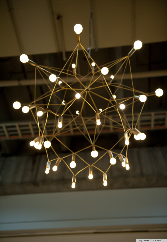 32 Gorgeous Lighting Fixtures Featured At ICFF That We Wish We Came ...