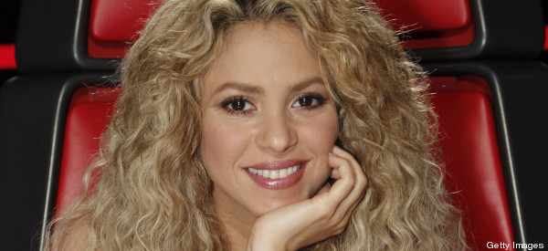 ¡Qué flexible, Shakira!