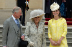 Blooming! Duchess Kate Is Radiant In Sunshine...