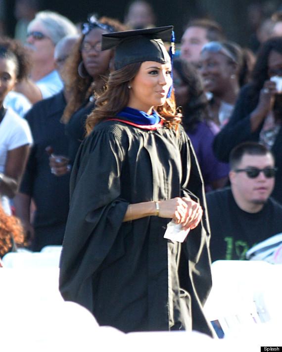 eva longoria graduation