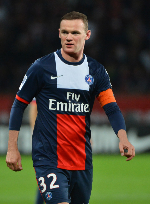 Wayne Rooney Psg
