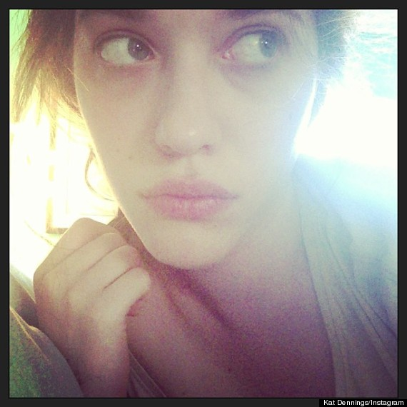 kat dennings without makeup