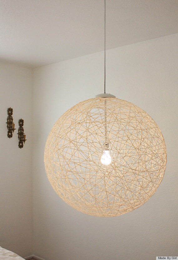 Diy lighting7 DIY Lighting Fixtures That You Won t Even Believe You Can Make  . Fixtures Lighting. Home Design Ideas