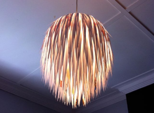 diy lighting & 7 DIY Lighting Fixtures That You Wonu0027t Even Believe You Can Make ... azcodes.com