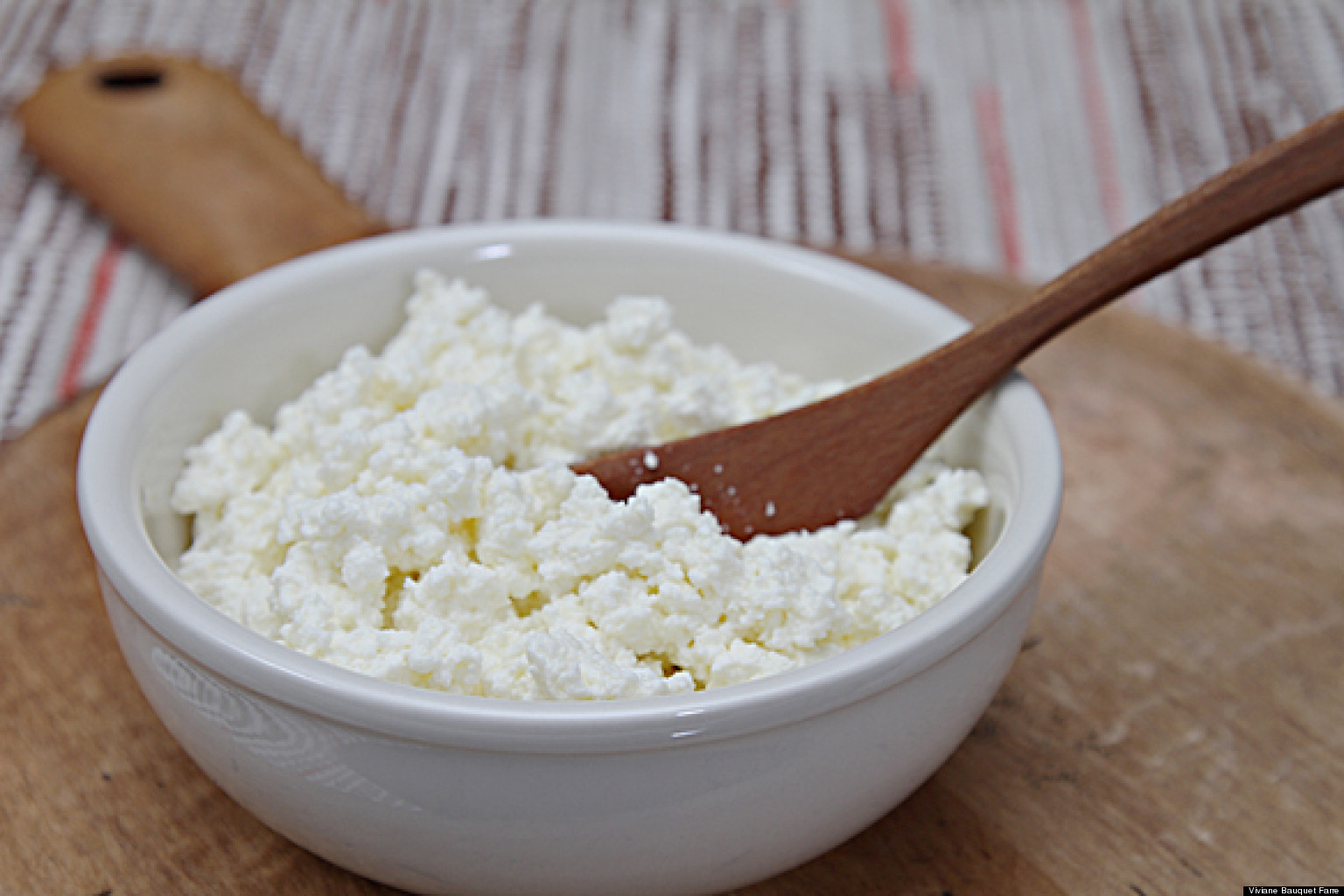 Homemade Ricotta - With Cow's Milk or Goat Milk | Viviane Bauquet ...