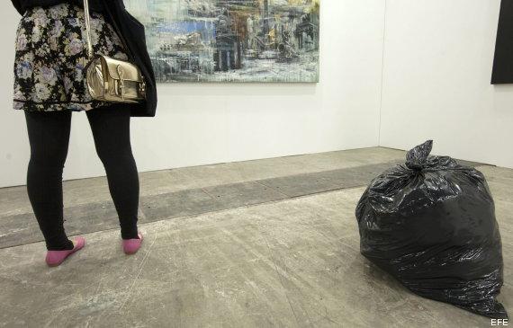 arte bolsa de basura