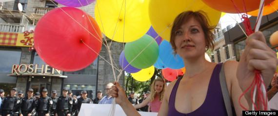 UKRAINE GAY PRIDE