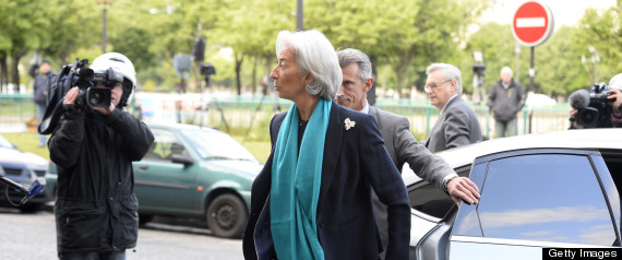 CHRISTINE LAGARDE IMF CHIEF QUESTIONED