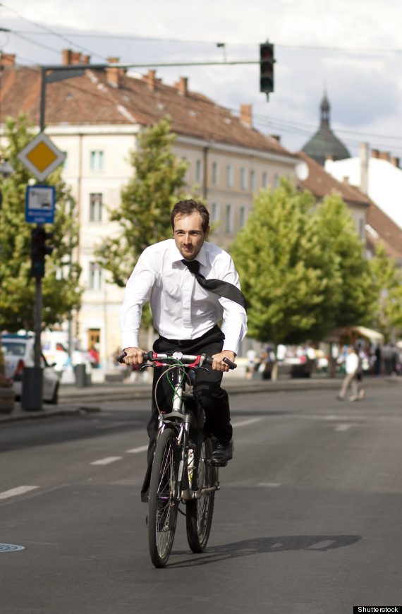 cycling in city