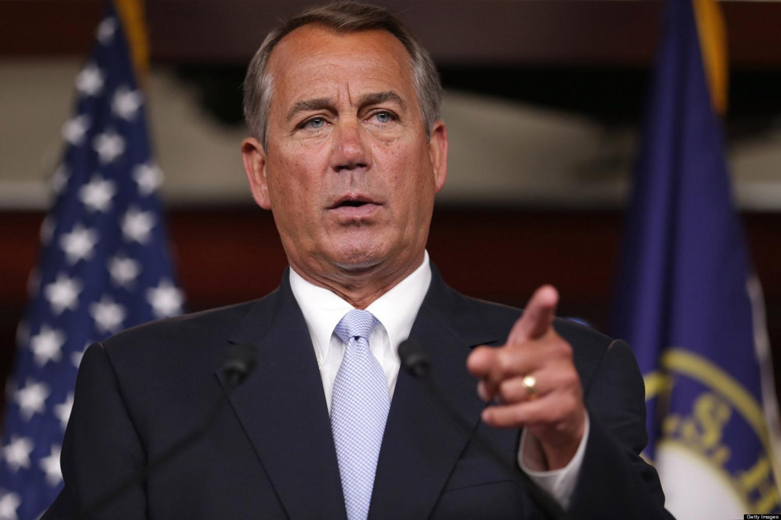 US Speaker Boehner Throws In Towel