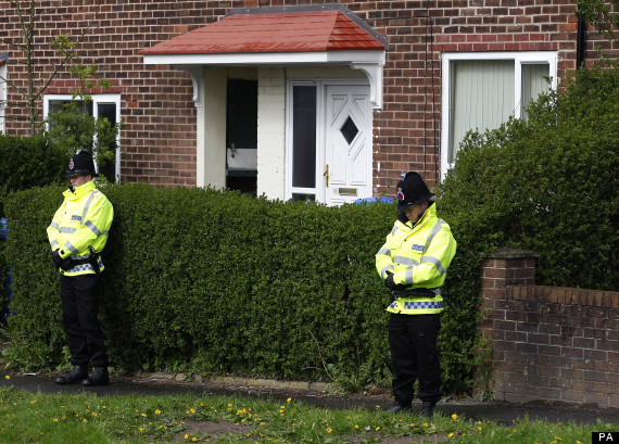 lee rigby family home