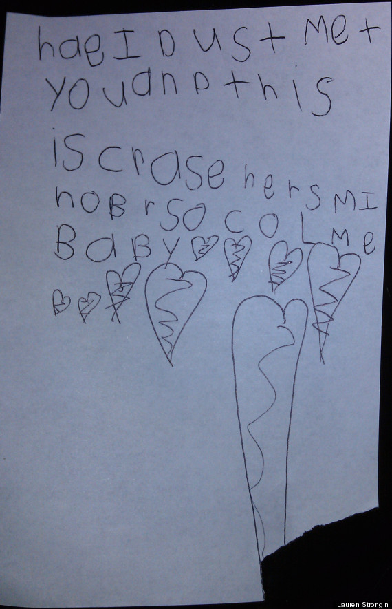 cute kid note of the day call me maybe