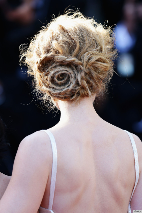 nicole kidman braided hair